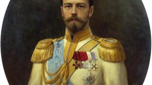 Портрет Николая II работы Ильи Галкина