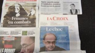 Imprensa francesa do dia 8.3.2019