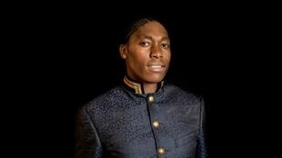 Caster Semenya poses before a function that honoured top South African female achievers