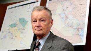 Cựu cố vấn an ninh quốc gia Mỹ Zbigniew Brzezinski, tại Washington, ngày 01/02/2007.