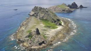中國與日本有爭議的釣魚島