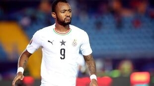 Jordan Ayew has scored two of Ghana's four goals at the 2019 Africa Cup of Nations.