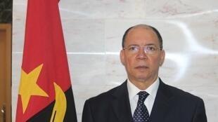 Francisco Queiroz, ministro angolano da justiça e direitos humanos.
