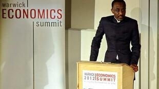 Sanusi Lamido Sanusi speaking at Warwick Economics Summit 2012