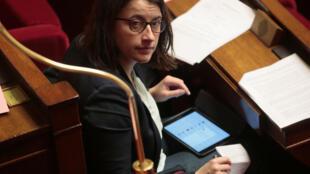 Cécile Duflot in parliament