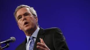 Ex-governador da Flórida anuncia intenção de disputar as eleições presidenciais nos EUA.