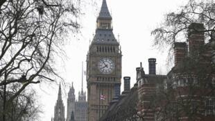 图为英国伦敦大本钟