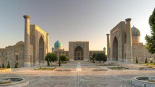 Habitée depuis plus de 2500 ans, la ville de Samarcande, dans le sud de l'Ouzbékistan, est classée au patrimoine mondial de l'humanité (photo d'illustration).