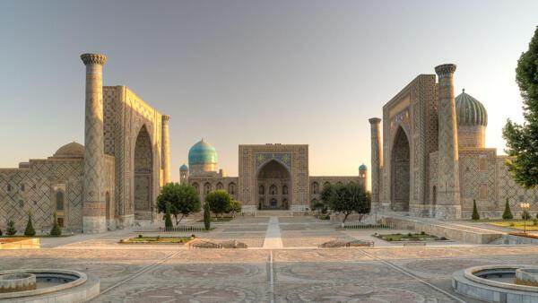 Thành phố Samarcande, có hơn 2500 năm tuổi, ở phía nam Uzbekistan, được xếp hạng di sản nhân loại thế giới. Ảnh minh họa.
