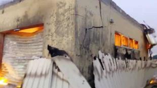 Ofishin INEC da ya kone a jihar Filaton Najeriya