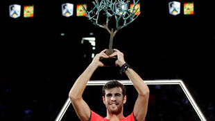 Karen Khachanov will rise to a career high of 11 after winning the Rolex Paris Masters.