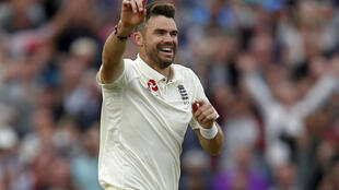 England's James Anderson has more Test wickets than any other paceman in history