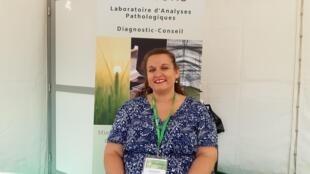 Élodie Lecocq, directrice générale de la société AgroDiagnostic basée à Grasse.