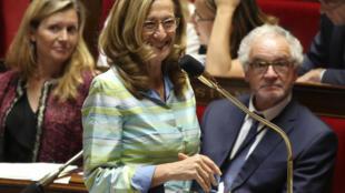 نیکول بلوبه وزیر دادگستری فرانسه
