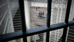 La prison française de Bourg-en-Bresse, dans la région Rhône-Alpes.