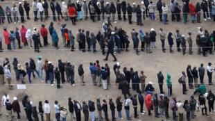 Cerca de 19,6 milhões de quenianos estavam inscritos para votar nas eleições presidenciais, em Agosto.