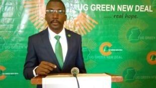 Timothy Mugerwa a lancé sa campagne cette semaine sous le nom «la Révolution verte».