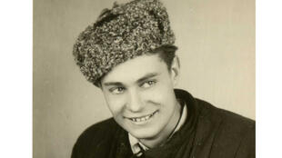 Антанас Сейкалис после возвращения из лагеря.