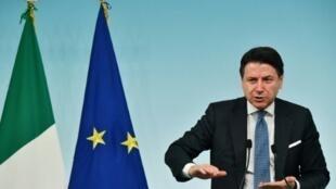意大利總理孔特(Giuseppe Conte)2020年3月4日
