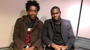 Boniface N'cho, co-fondateur de Groomers ; Idrissa Konte, fondateur d'Afrilangues.
