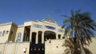 L'ambassade d'Iran à Koweït City, le 31 mars 2011. Le Koweït a annoncé jeudi 20 juillet 2017 l'expulsion de diplomates iraniens et la fermeture de missions de l'ambassade d'Iran.