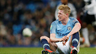 Kevin de Bruyne has missed two months of action with a knee injury.