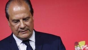 Acting Socialist Party first secretary Jean-Christophe Cambadélis
