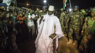 Yahya Jammeh, presidente cessante da Gâmbia. 24/11/2016