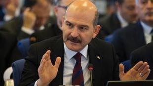 سلیمان سویلو وزیر کشور ترکیه