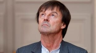 French Enviroment Minister Nicolas Hulot REUTERS/Charles Platiau