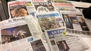 Diários franceses 09/12/2015