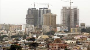 Antevê-se um crescimento menor para Angola nos próximos anos