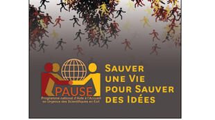 Affiche «Sauver une vie pour sauver des idées».