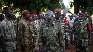 O general Dhafane da Sekela, co-signatário do acordo de paz de Brazzaville.