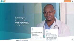 La page d'accueil du site Susu.fr.