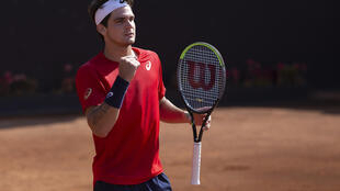 Staying strong: Thiago Seyboth Wild won in Santiago at the start of the month but now he is battling coronavirus