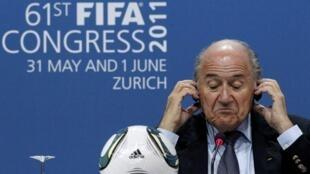 Sepp Blatter está no comando da Fifa há 17 anos.