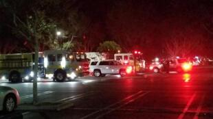O tiroteio aconteceu em uma discoteca de Thousand Oaks, ao norte de Los Angeles.