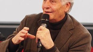 Heinz Wismann, au Salon du Livre de Paris, en mars 2013.