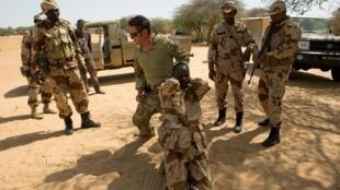 Sojojin Nijar na atisaye a yankin Diffa da ke fama d rikicin Boko Haram.