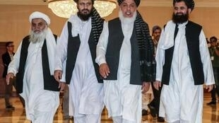 نهمین دور مذاکراتنمایندگان طالبان افغانستان با آمریکا در دوحه، پایتخت قطر