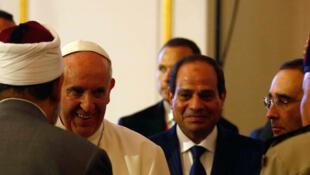 Paparoma Francis da Shugaban kasar Masar Abedel Fattah Al Sissi