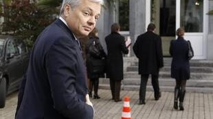 Belgian Finance Minister Didier Reynders blames downgrade on loss of confidence in eurozone