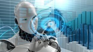 A revolução digital está transformando o mundo do trabalho. Foto ilustração