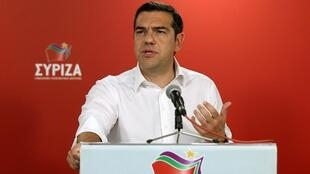 Возглавляемая Ципрасом правящая «Коалиция радикальных левых сил» (СИРИЗА) получила только второе место
