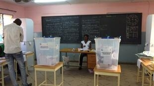 Un bureau de vote de Ouagadougou (image d'illustration)