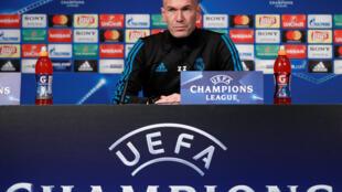 Zinedine Zidane, tsohon mai horar da kungiyar Real Madrid a kasar Spain