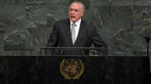 Discurso do presidente Michel Temer durante abertura da 72ª Assembleia da ONU em Nova Iorque