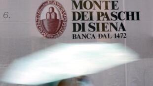 Logo của ngân hàng Ý Monte dei Paschi di Siena