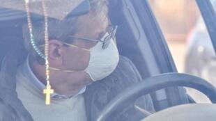 Фото из города Кодоньо (Ломбардия), «главного европейского очага эпидемии».